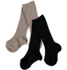 Mini Sibling Ribbed Long Socks - Set of 2 Mini Sibling Ribbed Long Socks - Set of 2