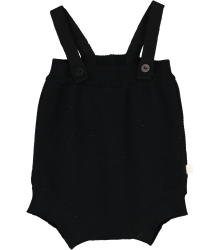 Mini Sibling Tricot Body with Suspenders Mini Sibling Tricot Body with Suspenders black