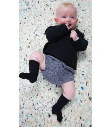 Mini Sibling Long Sleeved Top Mini Sibling Long Sleeved Top black
