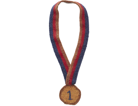 Oeuf NYC MEDAL Necklace