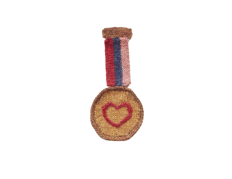 Oeuf NYC MEDAL Pin