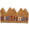 Oeuf NYC Knit Crown BIRTHDAY Oeuf NYC Knit Crown HAPPY BIRTHDAY