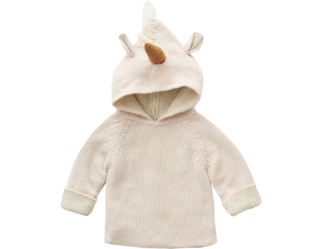 Oeuf NYC Animal Hoodie UNICORN
