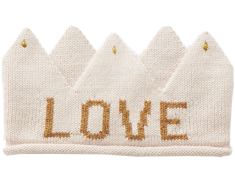Oeuf NYC Knit Crown LOVE