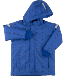 Tiny Cottons ALPHABET SOUP Snow Jacket Tiny Cottons ALPHABET SOUP Snow Jacket blue