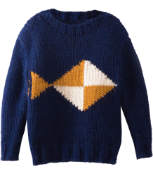 Bobo Choses Intarsia Jumper FISH Bobo Choses Intarsia Jumper FISH