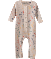 Bobo Choses Rib Jumpsuit Orariinae Bobo Choses Rib Jumpsuit Orariinae