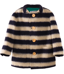 Bobo Choses Sheep Skin Jacket BIG STRIPE Bobo Choses Sheep Skin Jacket BIG STRIPES