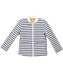 Bobo Choses Reversible Padded Jacket STRIPES Bobo Choses Rib Jumpsuit FISH
