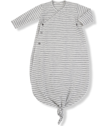 1+ in the Family DORA NewBorn Kimono 1  in the Family DORA NewBorn Kimono grey striped