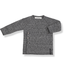 1+ in the Family NOVI NewBorn Shirt 1  in the Family NOVI NewBorn Shirt anthracite