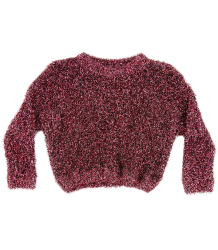 Caroline Bosmans Knitted Sweater LUREX Caroline Bosmans Knitted Sweater LUREX rosa
