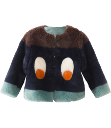 Bobo Choses Faux Fur Jacket EYES Bobo Choses Faux Fur Jacket EYES