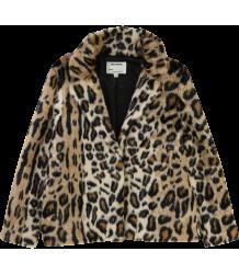 Zadig & Voltaire Kids Faux Fur Coat LEOPARD Zadig & Voltaire Kids Faux Fur Coat LEOPARD