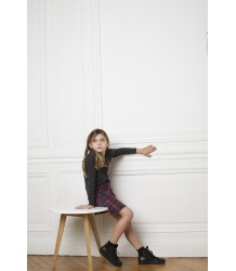 Zadig & Voltaire Kids Ashlee Dress Unique Check LOVE Zadig & Voltaire Kids Dress Unique Check LOVE