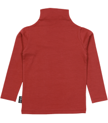 Mói Polo Neck Top Moi Polo Neck Top red