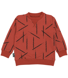 Mói Sweater FEATHERS Moi Sweater FEATHERS red