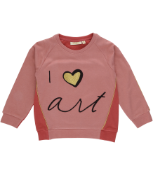 Soft Gallery Babs Sweatshirt LOVE ART Soft Gallery Babs Sweatshirt LOVE ART