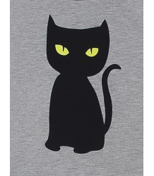 Little Man Happy BLACK CAT Basic Sweater Little Man Happy BLACK CAT Basic Sweater