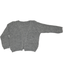 Mingo Knitted Cardigan Mingo Knitted Cardigan grey melange