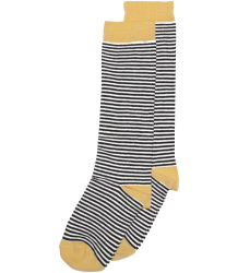 Mingo Knee Socks STRIPES Mingo Knee Socks STRIPES ocher