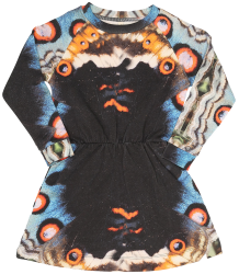 Popupshop Robbie LS Dress BUTTERFLY Popupshop Robbie LS Dress BUTTERFLY