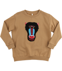 Popupshop Loose Sweat MANDRILL Popupshop Loose Sweat MANDRILL