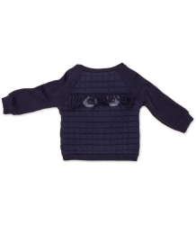 Noé & Zoë Baby Sweater EYES Noe & Zoe Baby Sweater EYES midnight blue