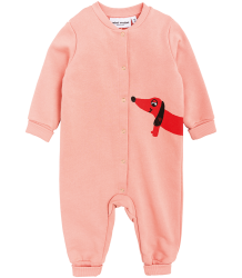 Mini Rodini DOG SP Onesie Mini Rodini DOG SP Onesie pink