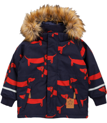 Mini Rodini K2 DOG Parka Mini Rodini K2 DOG Parka navy