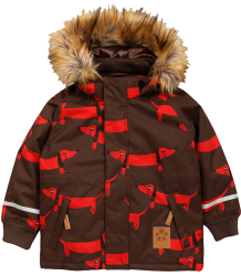 Mini Rodini K2 DOG Parka Mini Rodini K2 DOG Parka brown