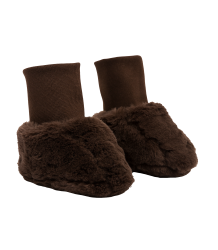 Mini Rodini Faux Fur Baby Boot Mini Rodini Faux Fur Baby Boot brown