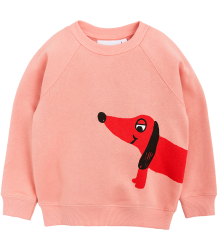 Mini Rodini DOG SP Sweatshirt Mini Rodini DOG Parka pink