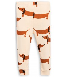 Mini Rodini DOG Leggings Mini Rodini DOG Leggings beige