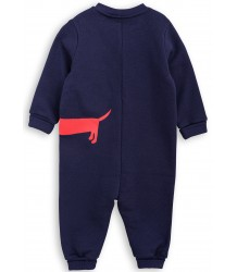 Mini Rodini DOG SP Onesie Mini Rodini DOG SP Onesie navy