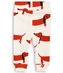 Mini Rodini DOG NB Leggings Mini Rodini DOG NB Leggings off-white