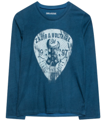 Zadig & Voltaire Kids Kita T-shirt GUITAR PICK Zadig & Voltaire Kids Kita T-shirt GUITAR PICK