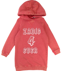 Zadig & Voltaire Kids Sweat Dress 4ever Zadig & Voltaire Kids Sweat Dress 4ever