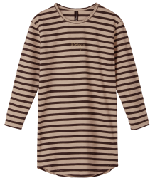 Dress Thick Stripes Little 10days Dress Thick Stripes