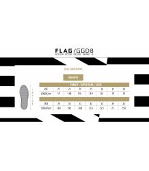 Golden Goose Superstar NET CORD GUM Golden Goose SIZING