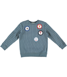 Stella McCartney Kids Striped Biz Sweater BADGES Stella McCartney Kids Striped Biz Sweater BADGES