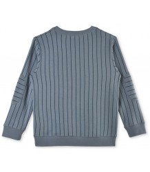 Stella McCartney Kids Striped Biz Sweater BADGES Stella McCartney Kids Striped Biz Sweater BADGES