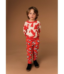 Kidscase Alf Sweat Organic Pants ARROW Kidscase Alf Sweat Organic Pants ARROW red