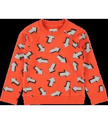 Kidscase Alf Sweat Organic Sweater ARROW Kidscase Alf Sweat Organic Sweater ARROW red