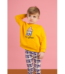 Hugo Loves Tiki Wide Sweat Shirt CUPCAKE Hugo Loves Tiki Wide Sweat Shirt Yellow CUPCAKE