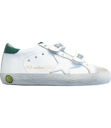 Superstar OLD SCHOOL white-green Golden Goose Superstar OLD SCHOOL green