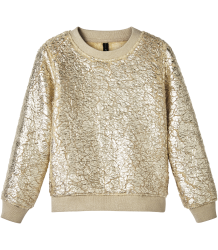 Little 10days Printed Fur Sweater GOLD Little 10days Printed Fur Sweater GOLD