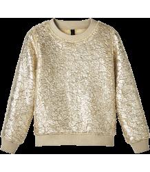 Little 10days Printed Fur Sweater GOLD Little 10days Printed Fur Sweater GOLD