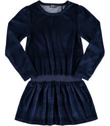 Yporqué Fleece Velvet Dress Yporque Fleece Velvet Dress navy