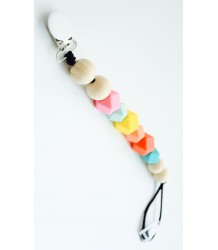 Slaep Pacifier Clip RAINBOW WARRIOR Slaep Speenkoord RAINBOW WARRIOR